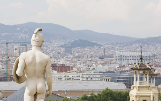 Enjoy the views from the hills above Barcelona.