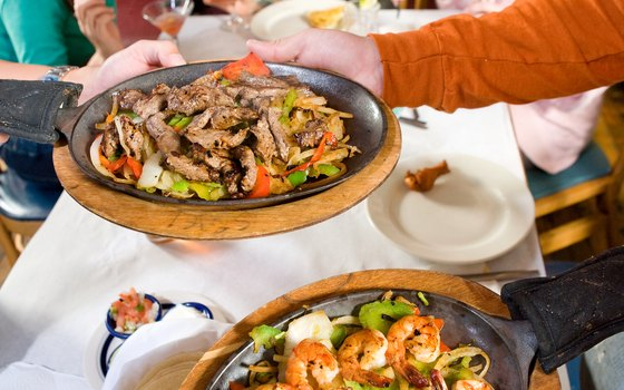 Helen's LaCabana restaurants offer eleven different meat and vegetable combinations of fajitas.