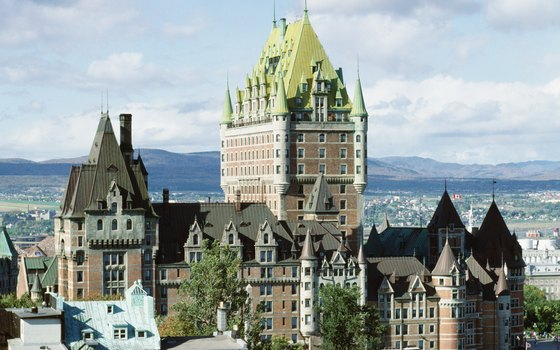 Quebec's famed Chateau Frontenac is a must-see in the elegant city.