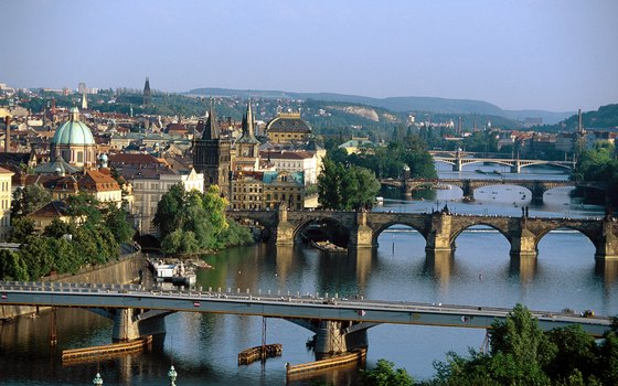 Prague, Czech Republic, is a popular destination for budget travelers.