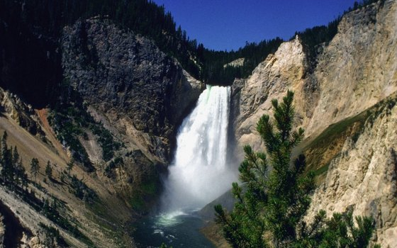 The Grand Canyon of the Yellowstone is a true Wyoming landmark.