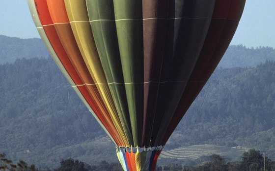 Liftoff occurs pre-dawn for rides high above Napa Valley.
