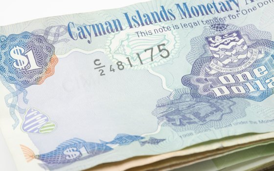 Though a territory of Britain, the Cayman Islands has its own currency.