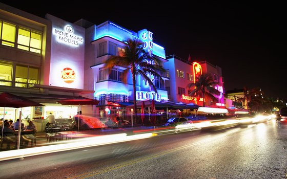 Beach-goers seeking an Art Deco experience should head for South Beach.