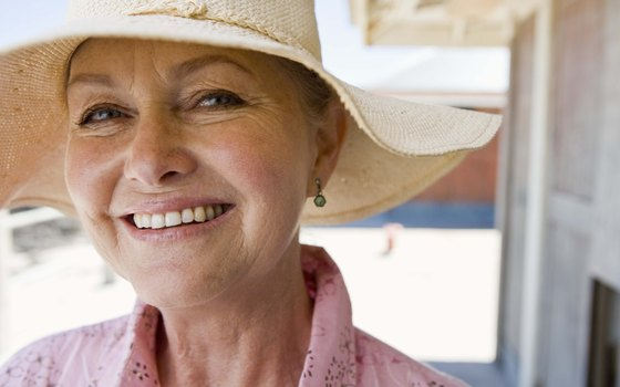 A wide-brimmed hat will protect you from the desert sun.
