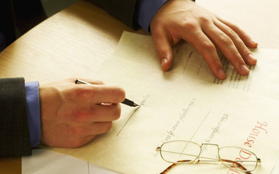 Record the tenancy by the entirety deed only after it is notarized.