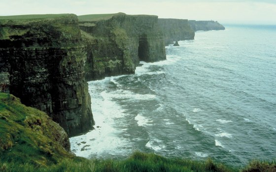 The Cliffs of Moher have no tourist shops or related attractions nearby to detract from the natural beauty.