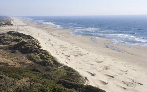 Oregon Dunes stretches over 45 miles from Coos Bay to Florence.