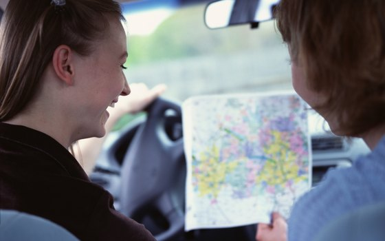 Let the teens help navigate the trip.