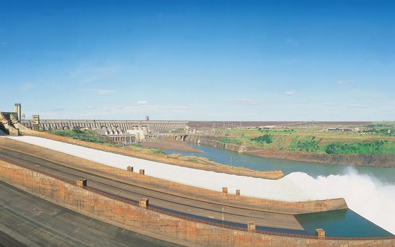 Brazil's Itaipu Dam took 26 years to build.