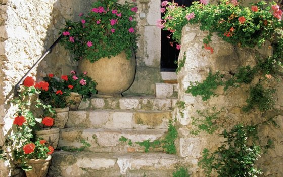 A focused stay in Provence opens the door to out-of-the-way spots like this old stone stairway in Eze.