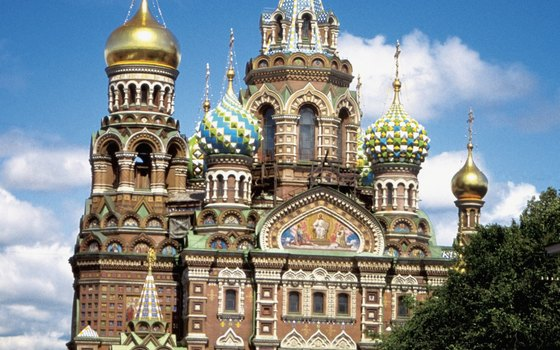 St. Petersburg's Church on Spilt Blood stands where Alexander II was assassinated in 1881.