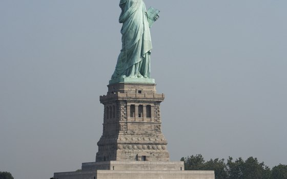 The Statue of Liberty is a gift from France.