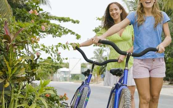 Bike tours roll along at an easy, gentle pace.