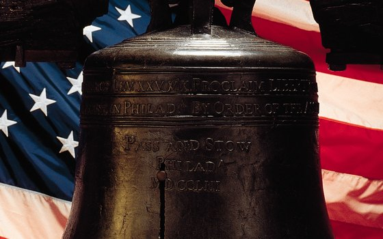 The Liberty Bell has a specially constructed home in Philadelphia.