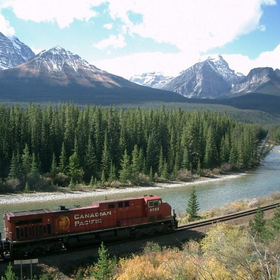 Canadian Pacific Railway in Banff