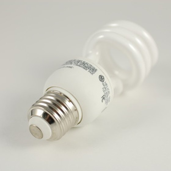 Glass shards and mercury are the two main dangers of broken fluorescent bulbs.