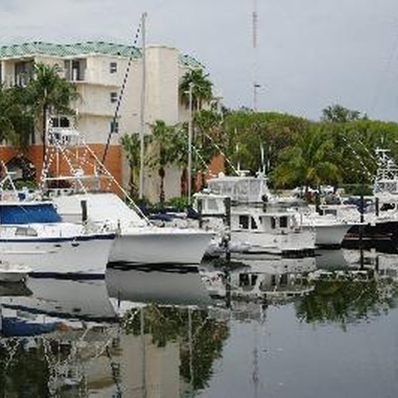 Key Largo marinas can provide RV facilities as well as recreational opportunities.