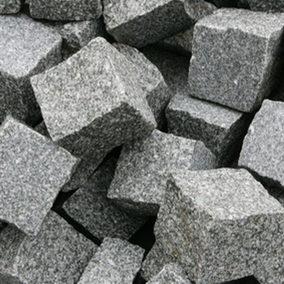 Radon is frequently found in areas containing granite.
