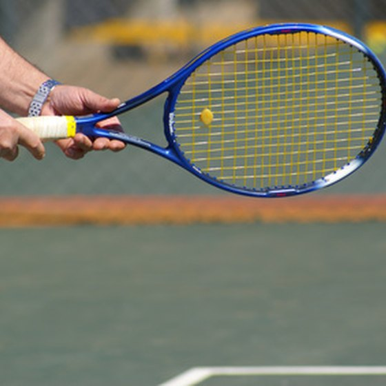 Tennis rackets come in three basic categories.