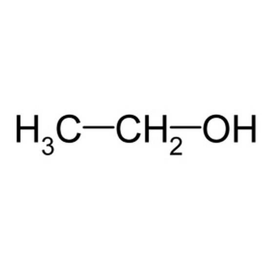 The chemical formula for alcohol will include a hydroxyl group.