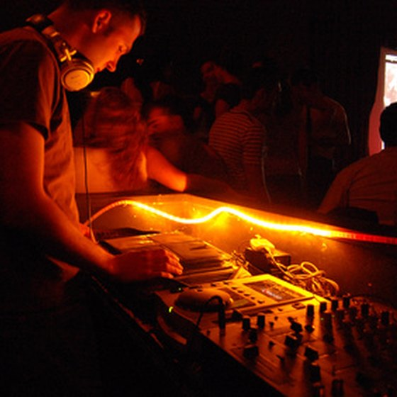 DJs can use a web page to promote their business