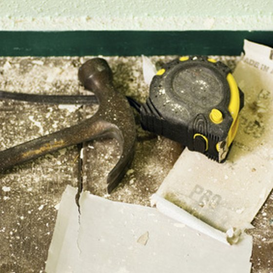 Exposure to plaster dust during remodeling can cause eye, skin and respiratory tract irritation in people allergic to it.