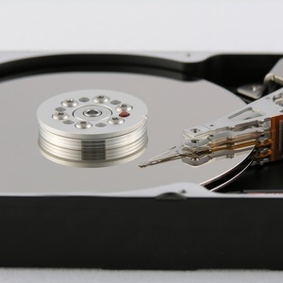 Remove all files from a computer's hard drive to start over again.