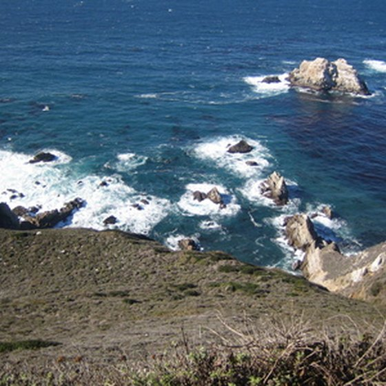 The Northern California coastline is known for its rugged beauty.