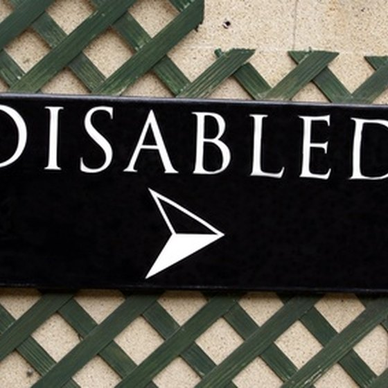 The disabled require accommodations such as online access and physical assistance.
