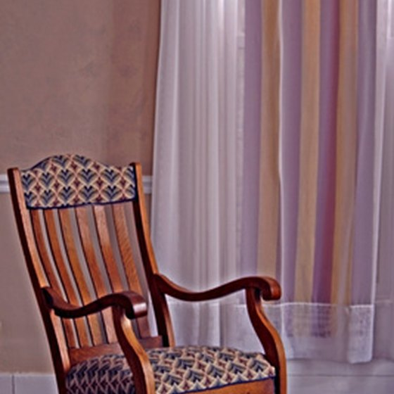 Tonality is in images and words, like this rocking chair has a comforting tone.