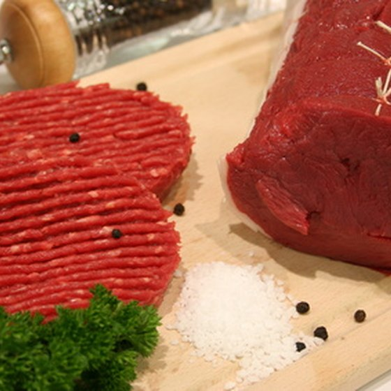 Red meat is high in iron and increases the oxygen in the body.