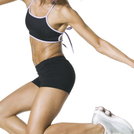 P90X plyometrics is a high-impact jumping routine.