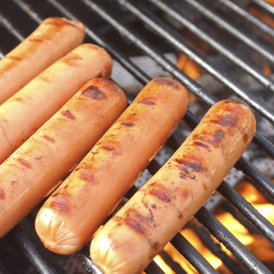 Hot dogs have been a classic American food since the late 1800s.
