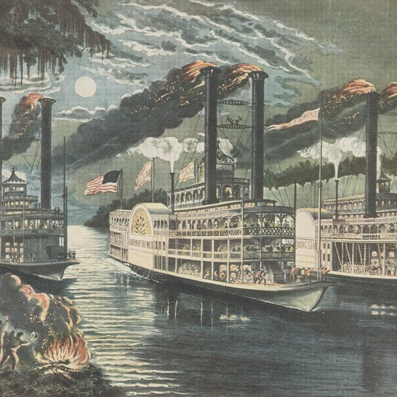 A trip aboard the American Queen recalls America's 19th-century riverboat heyday, when numerous steamboats plied the Mississippi River.