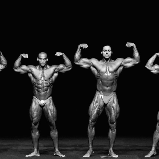 Bodybuilding is judged on your whole physique, not just your upper body.