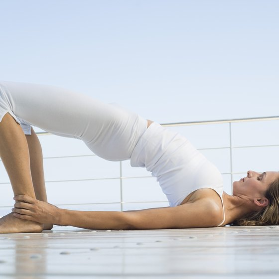 Certain yoga poses can alleviate lower back and sciatic nerve pain.