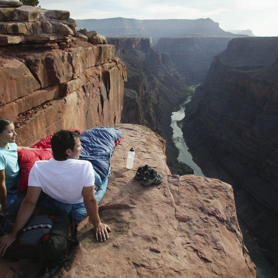 Travelers enjoy green adventures at the Grand Canyon.
