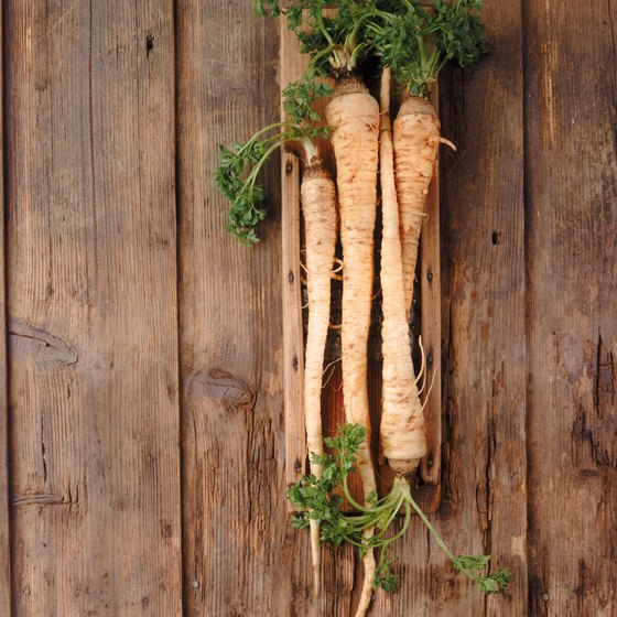Eat parsnips as a rich source of vitamin K.