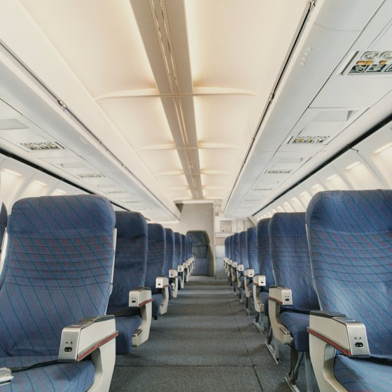 Cramped seats can cause deep vein thrombosis.