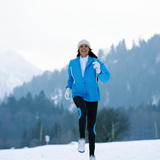Proper clothing can make cold weather runs more enjoyable.