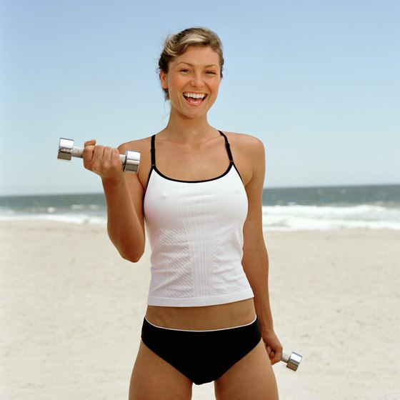 Targeted workouts prep your body for beachwear.