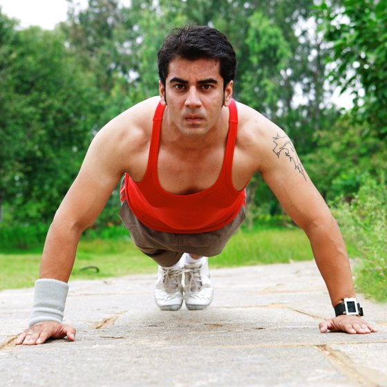 Push-ups are more suited for muscle-confusion workouts.