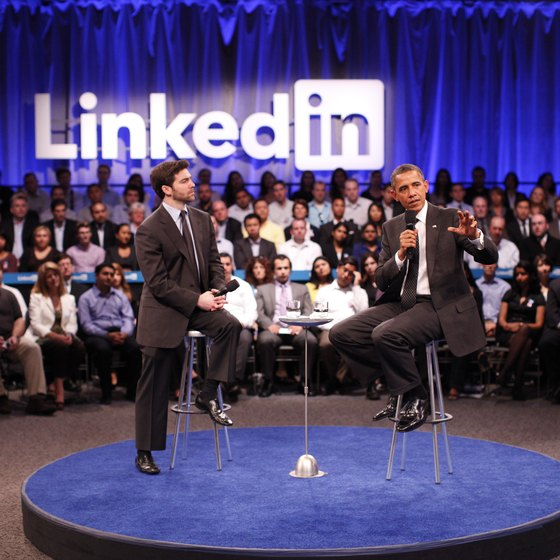 As of October 2012, President Barack Obama had more than 344,000 LinkedIn followers.