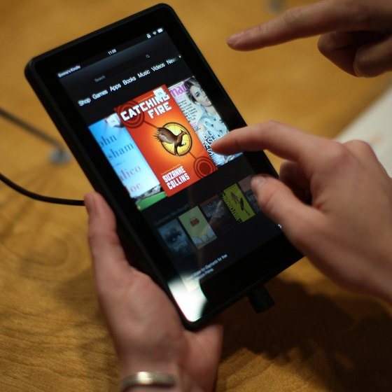 Amazon.com's Kindle Fire is suitable for reading books and surfing the Web.