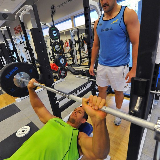 Alternate between barbell and log bench presses in your routine.