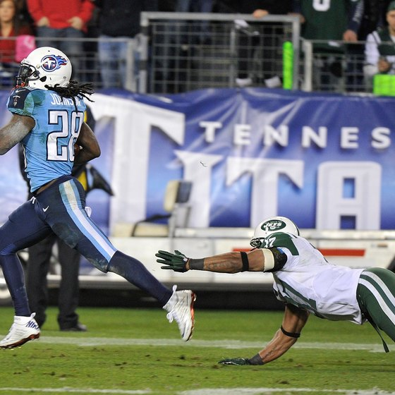 Chris Johnson streaks 94 yards for a touchdown in 2012.