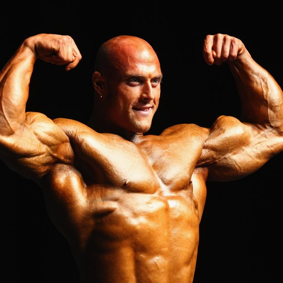 Bodybuilders often use the winter to bulk up and add muscle mass.