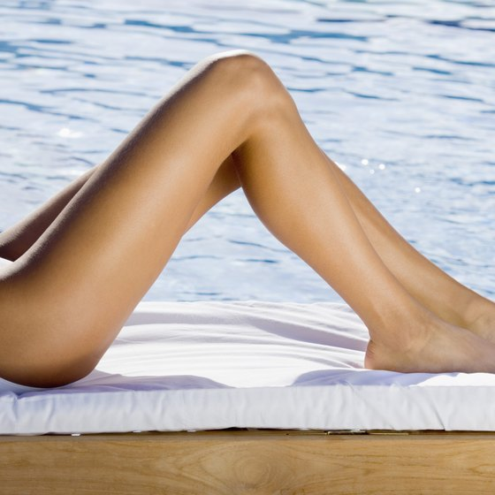 You can be proud to show off slender, toned legs.