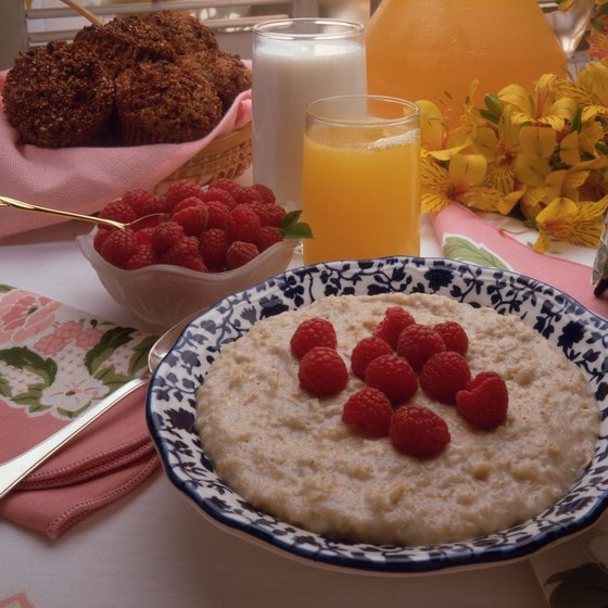 Oatmeal is a whole-grain food that can be enjoyed as part of a heart healthy diet.